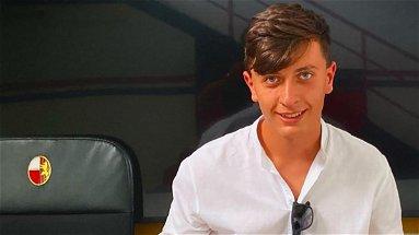 Vincenzo Filippelli, giovane promessa del calcio di Mandatoriccio, approda alla Lucchese