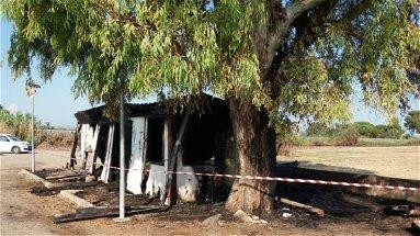Parco archeologico di Sibari, incendiata una baracca