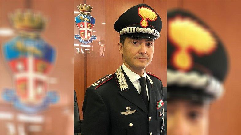 Cosenza, il colonnello Agatino Saverio Spoto è il nuovo Comandante provinciale dei Carabinieri