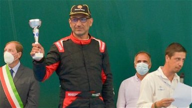 Il coriglianese Mario Gaccione conquista il podio nello Slalom automobilistico di Altomonte
