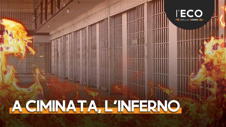Quell'inferno del carcere di Ciminata: un detenuto (psichiatrico) dà fuoco alla cella