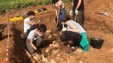 Laino Borgo, gli scavi archeologici portano alla luce una