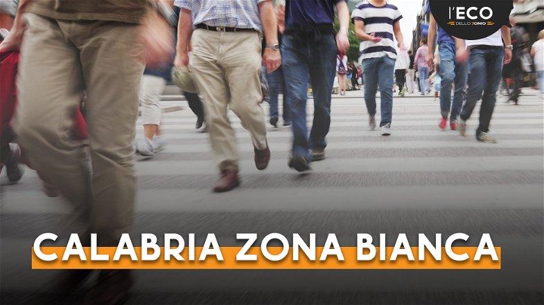 Emergenza Covid, la Calabria resta in zona bianca