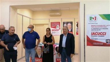 REGIONALI 2021 - Franco Iacucci apre nuovi punti di incontro in Provincia