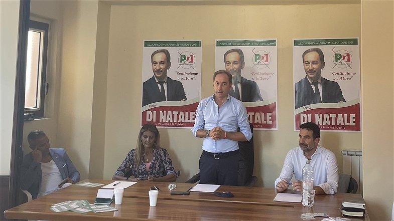 REGIONALI2021 – Cosenza, inaugurato il comitato elettorale di Graziano Di Natale