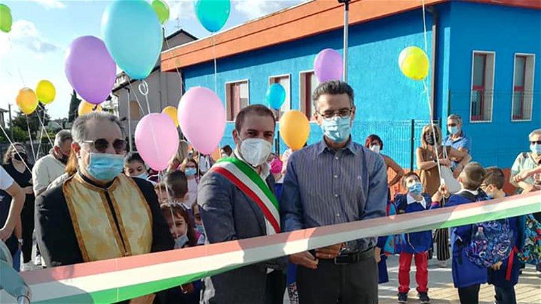 A San Basile anno nuovo, scuola nuova. Tamburi: «Edificio da guinness dei primati»