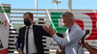 REGIONALI 2021 - Lorenzo Guerini: «Sono in Calabria a sostegno della Bruni e di Di Natale»