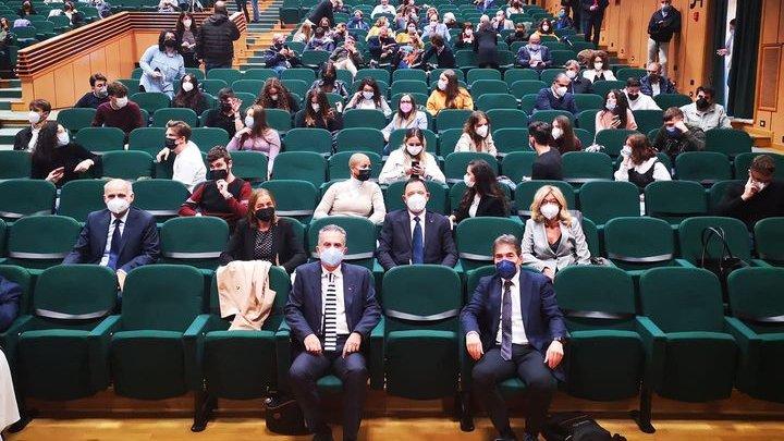 «Un corso innovativo e vincente»: il ministro Messa inaugura il primo anno di Medicina e Tecnologie digitali