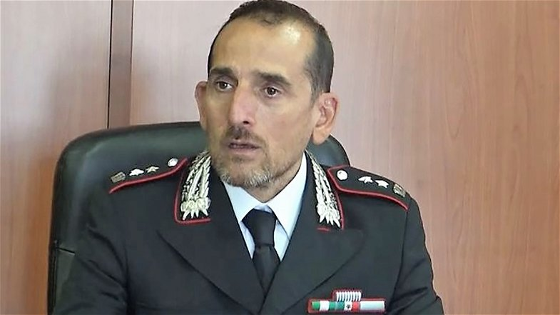 Co-Ro, il sindaco Stasi saluta e ringrazia i capitani dei Carabinieri Calascibetta e Sganzerla