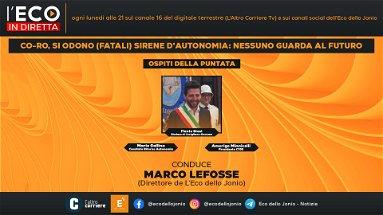 ECO IN DIRETTA - Co-Ro, si odono (fatali) sirene d'autonomia: nessuno guarda al futuro