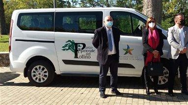 Il Parco del Pollino dona anche a Civita un minivan ibrido