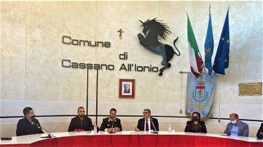 Cassano, visita di cortesia del Capitano Michele Ornelli al Palazzo di Città