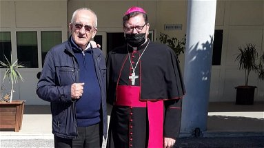 Corigliano-Rossano, Monsignor Maurizio Aloise ha fatto visita ai detenuti della Casa di reclusione